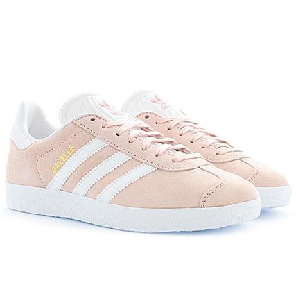 adidas gazelle rose solde