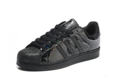 adidas superstar noir vernis